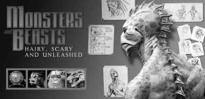 "Creepy crawlers · ""Monsters & Beasts: Hairy, Scary and Unleashed"" is the latest exhibit at the Muzeo Museum in Anaheim, Calif. The exhilerating new exhibit showcases animatronic creatures. - Photo Courtesy of Muzeo Museum"