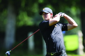 Leading the charge · Senior Tom Glissmeyer shot a final round 66 to help the Trojans advance to match play where they fell to Michigan. -  Photo courtesy of USC Sports Information