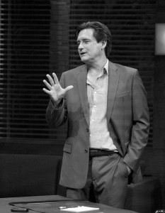 "School ties · Bill Pullman (above) take a break from movies to star in esteemed playwright David Mamet's ""Oleanna,"" now onstage at the Mark Taper Forum in Downtown Los Angeles. -  Photos Courtesy of Center Theatre Group"