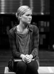 "School ties ·  Julia Stiles take a break from movies to star in esteemed playwright David Mamet's ""Oleanna,"" now onstage at the Mark Taper Forum in Downtown Los Angeles. -  Photos Courtesy of Center Theatre Group"