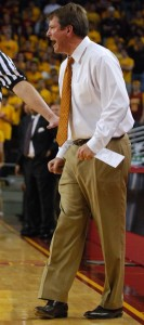 Uncertain future · Tim Floyd's recruiting class continues to falter. Brandon Hui | Summer Trojan