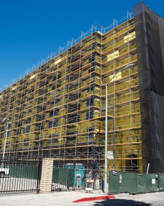 Leasing · Construction on the University Gateway Complex nears completion. Students will soon be able to lease apartments for next year. | Photo by Ian-Elston