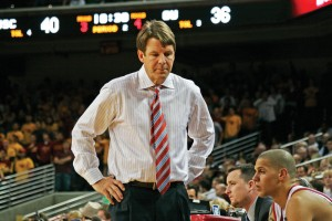 Technical foul · Coach Tim Floyd resigned shortly after he was accused of handing at least $1,000 cash to a member of former star O.J. Mayo's inner circle in February 2007. - Dieuwertje Kast | Daily Trojan