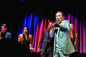 Groovin' · Iconic Motown artist and producer Smokey Robinson sings before an intimate audience at the Grammy Museum. Robinson's newest album, Time Flies When You're Having Fun, was released this week. - Nathaniel Gonzalez | Daily Trojan