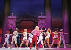 Blond ambition · Becky Gulsvig stars as Elle Woods in Legally Blonde: The Musical, playing at the Pantages Theatre in Hollywood. - Photos courtesy of Broadway LA