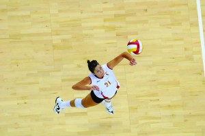 Rock and Roleder · Opposite hitter Kimmee Roleder is in the lineup for the start of Pac-10 play. - Eric Wolfe | Daily Trojan