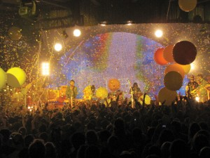 On fire · British experimental band the Flaming Lips performs a visceral set at ATP NY 2009. - Photos courtesy of Rebecca Skaparas