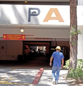 Parked · Parking Structure A will no longer offer day passes for drivers on Tuesdays or Thursdays in an effort to solve cramped parking. - Mike Lee | Daily Trojan