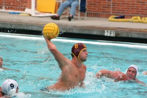 Deadly assault · USC two-meter Shea Buckner leads the Trojans' offensive attack this week in a major test against Pepperdine. The Trojans are coming off their first loss in two seasons after falling 5-4 to UCLA. - Dieuwertje Kast | Daily Trojan