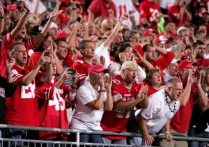 Ear-splitter · The 106,033 fans in attendance at Ohio Stadium (a new Ohio State record) reportedly made Matt Barkley's ears ring. - Leah Thompson | Daily Trojan