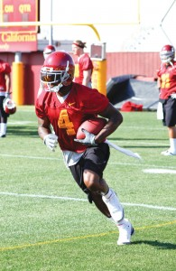 First up · Running back Joe McKnight is the starter for Saturday's season opener, but he will split carries with at least three teammates. - Mike Lee | Daily Trojan