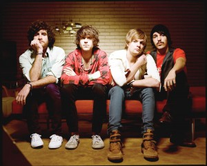 Too fake · Although Hockey is signed to a major label, the band's socially critical lyrics and funk-heavy dance beats exemplify the independent ethos it has held since forming in 2007. - Photo Courtesy of EMI Music