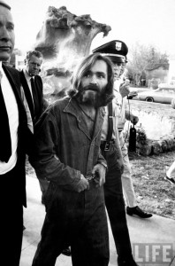 Criminal mind · Charles Manson is led to court after being arrested. He is one of the many notorious figures in LA's gruesome crime history. - Photo courtesy of LIFE