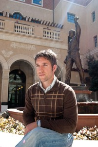 Vetting funds · Chris Roessner, a graduate student, served in Iraq and is now waiting for GI Bill benefits to help fund his education. - Vicki Yang   Daily Trojan
