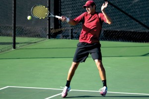 Stroked · No. 3 senior Robert Farah was knocked out in singles play in the third round at the D'Novo/ITA All-American Championships. - Eric Wolfe | Daily Trojan