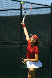 Repeat · Maria Sanchez hopes to match her success in San Diego. - Jonathan Wong | Daily Trojan