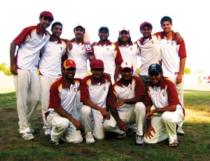New direction · The USC cricket team, which has been in existence for 10 years, suffered through numerous losing seasons before getting serious last season. The team is now one of the best in its region. - Photo courtesy of USC cricket team