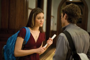 Truth or dare · The indie drama Dare was originally a short film that collaborators Adam Salky and David Brind made while graduate film students at Columbia University. The feature-length version, which stars Emmy Rossum (left), premiered at the 2009 Sundance Film Festival. - Photo courtesy of Image Entertainment