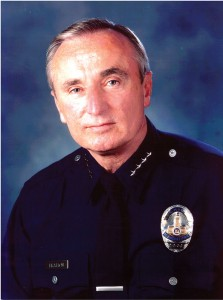 The Departed · LAPD Chief William Bratton stepped down Saturday, after seven years in which he is credited with revolutionizing the force.- Photo courtesy of LAPD