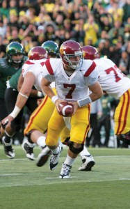 Lessons to learn · Pete Carroll said freshman quarterback Matt Barkley and other young USC players will learn from the trying season. - Dieuwertje Kast | Daily Trojan