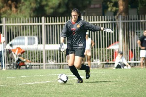 The constant · Goalie Kristin Olsen has been the Women of Troy's most dependable player with 101 saves and an 83 percent save rate. - Nathaniel Gonzalez   Daily Trojan