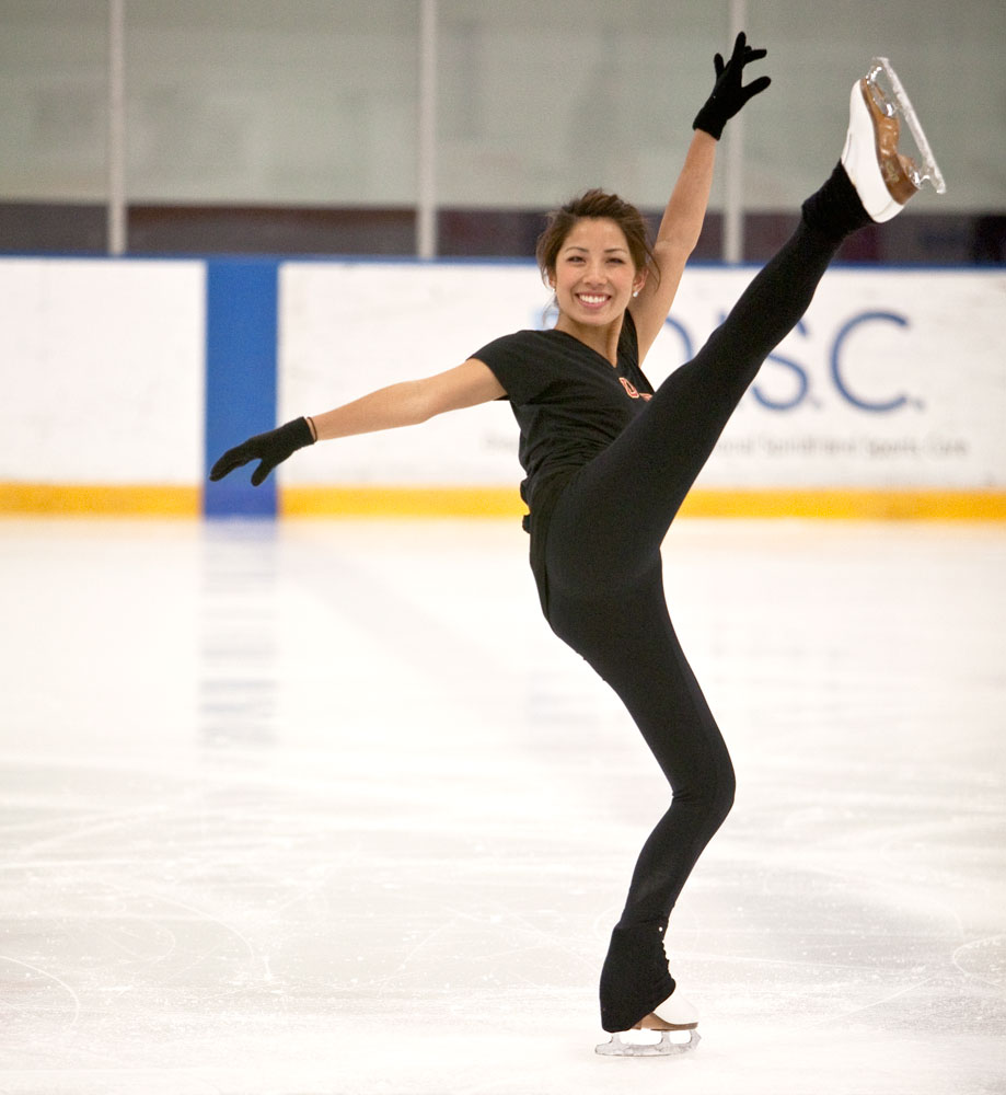 Figure Skating Finding An Edge At Usc Daily Trojan