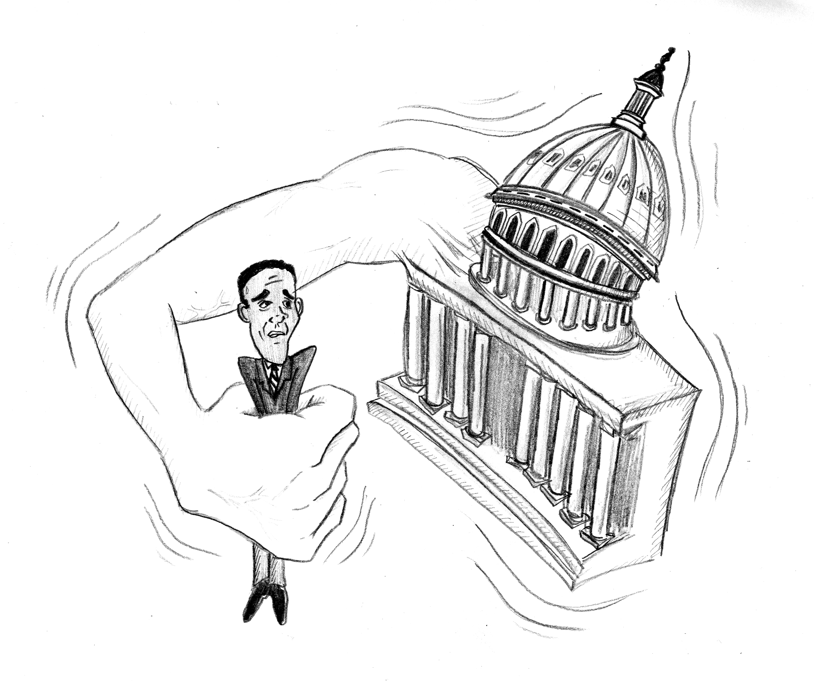 power of congress lies in red tape daily trojan