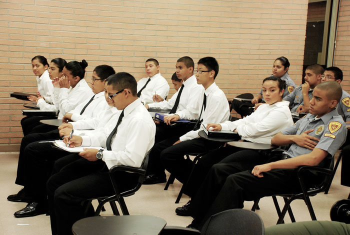 Dps Cadet Program Educates Youth In Police Service Daily