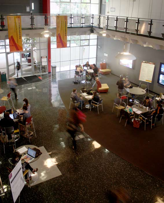 New Annenberg Building Lobby