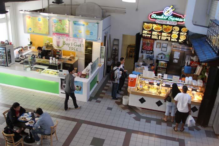 Usc University Village Food Court