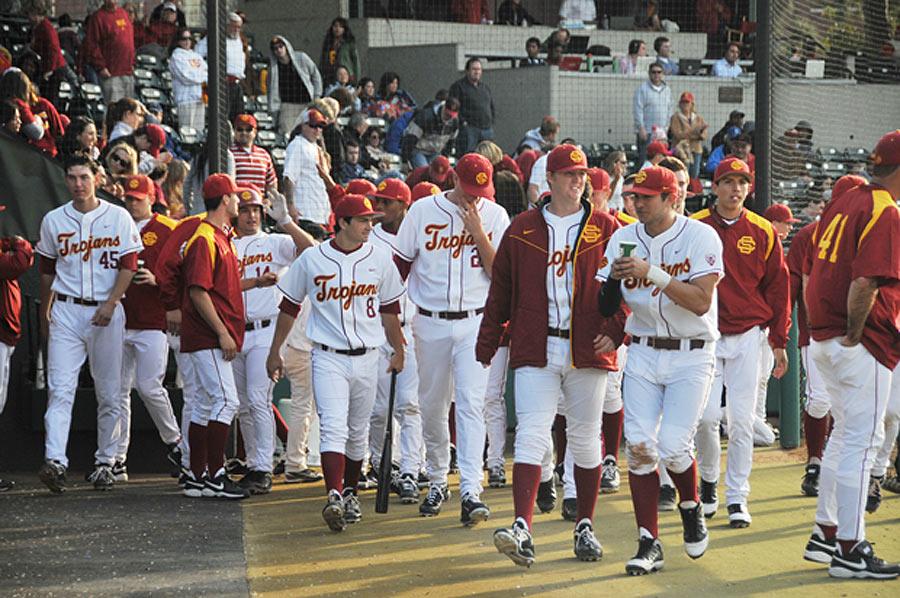The USC trojans men's baseball team