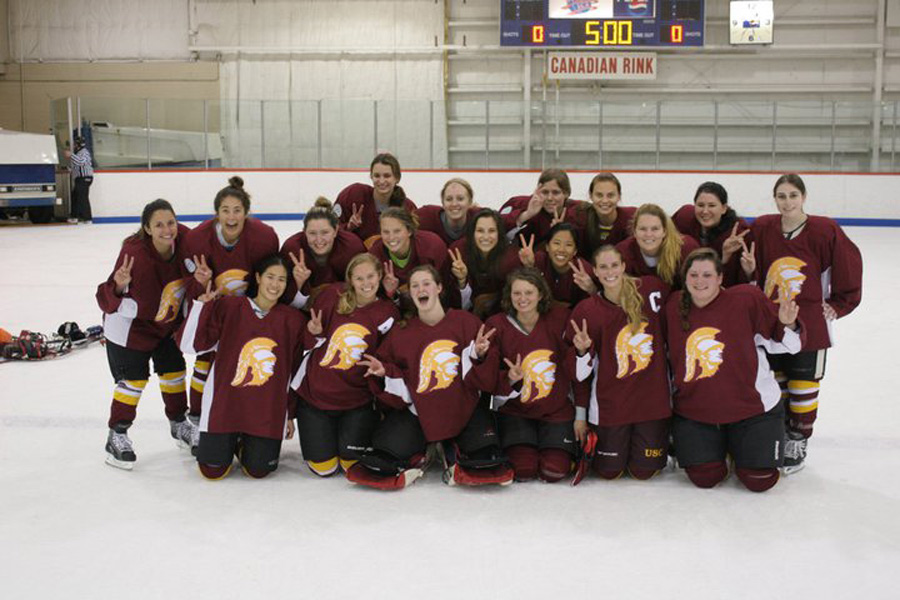 The USC women's hockey team plays in a class of its own | Daily Trojan