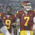 Marqise Lee and Matt Barkley
