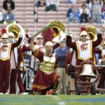 USC Trojan Marching Band pre game