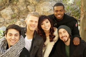 In harmony · The a cappella group Pentatonix, which features former Thorton School of Music student Scott Hoying, will kick off the new year with a new tour,  beginning on Thursday, Jan. 24 in Hollywood. - Photo courtesy of Ryan Parma