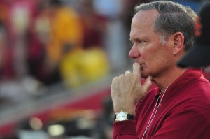 USC athletic director Pat Haden suffered another health scare Wednesday when he collapsed on campus. Carlo Acenas | Daily Trojan