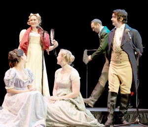 A classic revisited· Pride and Prejudice at Los Angeles Theater Works' does not stray far from Jane Austen's original language and text. - Couresty of Matt Petit