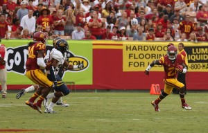 Saying goodbye · USC will be hard-pressed to replace junior cornerback Nickell Robey's leadership and All-Pac-12 production. - Chris Pham | Daily Trojan