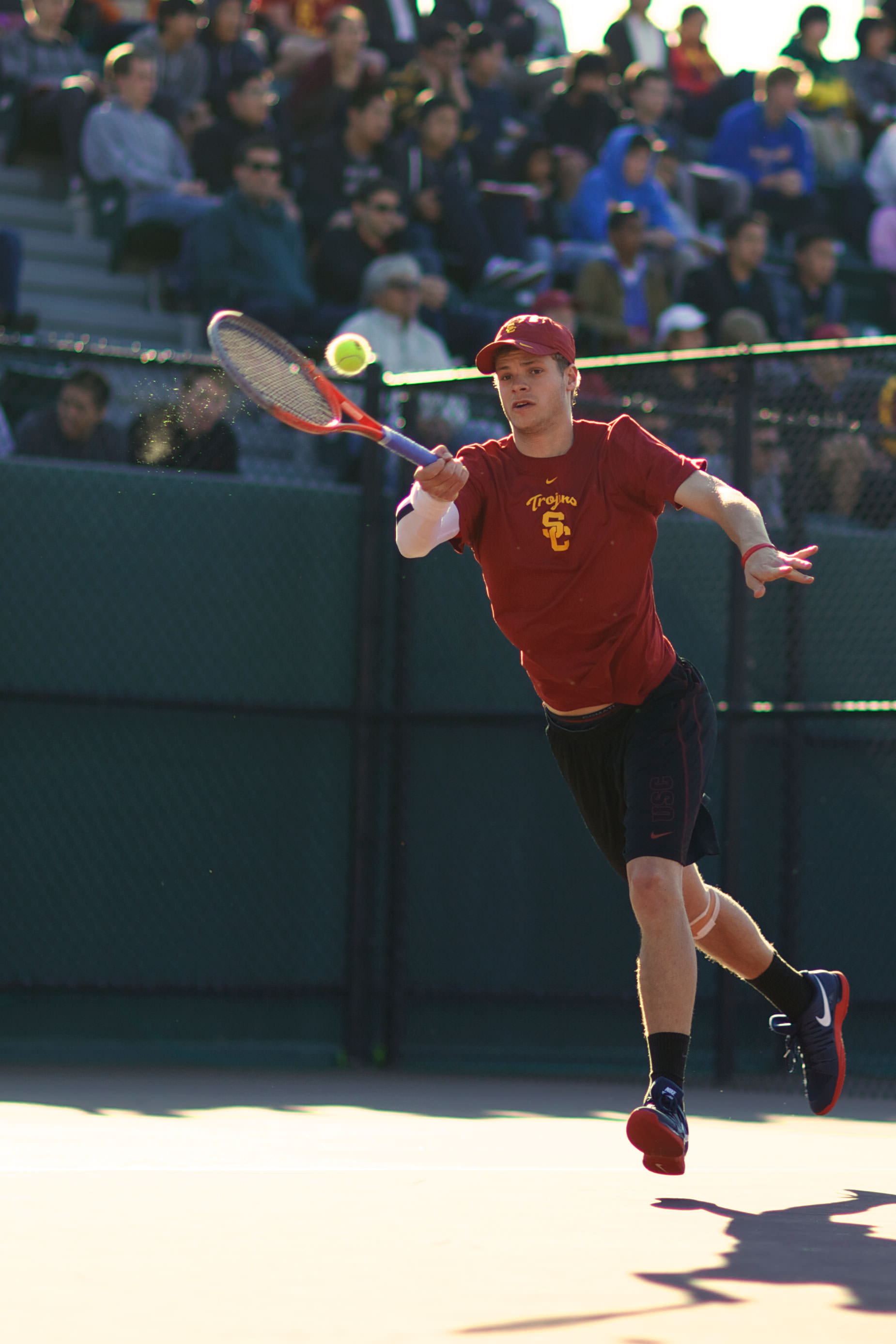 In Photos: Men's Tennis defeated by UCLA | Daily Trojan