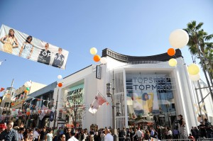 Haute or cold · Topshop recently opened its first West Coast location at The Grove. The store, which is known for its cutting-edge, affordable styles, but disappointed fans with its selection of predictable and pricey clothing. - Courtesy of Amanda Ellis