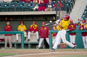 What's next? · The USC baseball team finished the 2011-12 season with a 25-31 record, ending the year with a 13-1 defeat against the Washington State Cougars. The Trojans have had just one winning season in 10 years. - Daily Trojan File Photo
