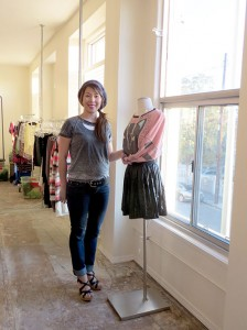 Selective style · Kissa's Vivi Lynch and her team are conscious of selling clothing that students want to wear. They make it a point to sell student life essentials, such as sweaters, party attire and dressy tops. - Bernie Leed | Daily Trojan