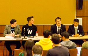Diversity discussion · Undergraduate Student Government held its second annual presidential diversity forum on Monday evening. - Joseph Chen | Daily Trojan