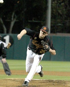 Pitching woes · The USC pitching staff gave up a combined 19 runs between Saturday and Sunday's losses to the Fresno State Bulldogs. - Austin Vogel   Daily Trojan
