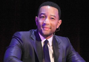 Shine bright · Grammy award-winning singer John Legend urges students to take charge of their education Monday at Bovard Auditorium. - Ricardo Galvez | Daily Trojan