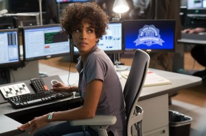 Dial M for Murder · Unlike her most recent film Movie 43, Halle Berry revists her dramatic roots in The Call, playing operator Jordan Turner who struggles to track down an infamous killer before he claims his next victim. - Courtesy of Greg Gayne