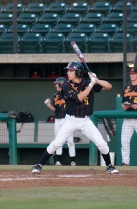 Making strides · Though he was hitless in Saturday's loss, sophomore catcher Garrett Stubbs singled and scored a run in Friday night's win. - Ani Kolangian | Daily Trojan