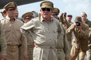 Commanding performance · Tommy Lee Jones exceeds expectations as the legendary Douglas MacArthur in Emperor. Jones' performance perfectly captures MacArthur's brilliant, yet eccentric nature. - Courtesy of Kirsty Griffin