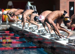 Finish line · USC's No. 4 men's swim and dive team has put in a stellar regular season, but the slate will be wiped clean in Indianapolis. - William Ehart | Daily Trojan