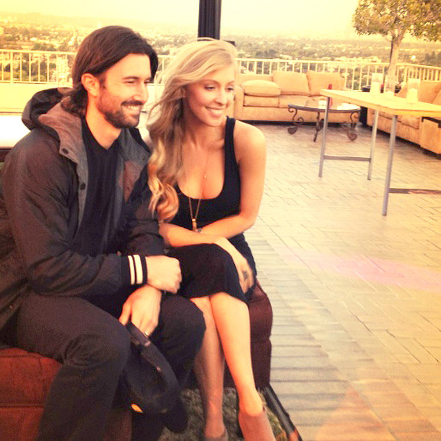 Brandon and Leah Felder Jenner